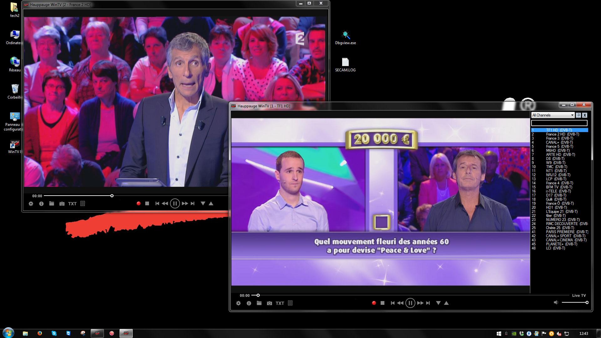 WINTV TV GRATUIT TÉLÉCHARGER CARTE DRIVER